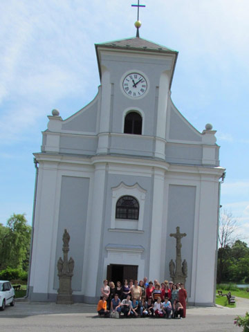 Aktivita 6 - Exkurzia - Kostol sv. Petra z Alkantary