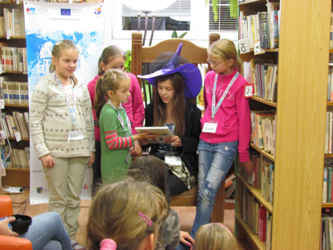 Aktivita 2 - Noc v knižnici