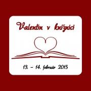 Valentín v knižnici