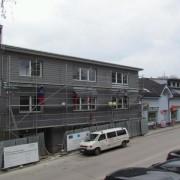 Prístavba tesne pred dokončením