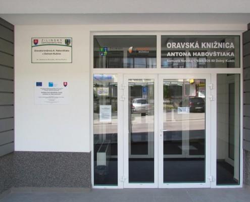 Nový vstup do budovy