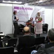 Vystúpenie Dariny Laščiakovej na Bibliotéke 2012