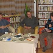 Stretnutie s Rudolfom Jurolekom a Medardom Slovíkom