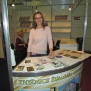 Ivana Furjelová na Bibliotéke 2014