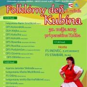 Folklórny deň Kubína 2015