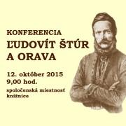 Konferencia Ľudovít Štúr a Orava