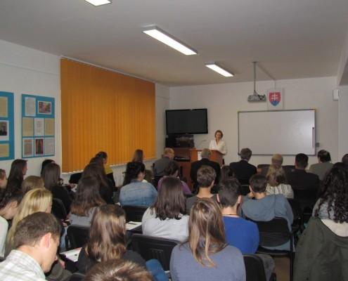 Konferenciou sprevádzala Mgr. Miriam Kazimírová z Oravskej knižnice A. Habovštiaka