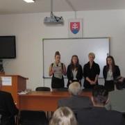 Študentky Obchodnej akadémie v Dolnom Kubíne predstavili svoj film o Ctibohovi Zochovi