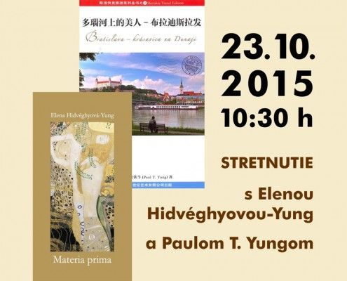 Stretnutie s Elenou Hidvéghyovou-Yung a Paulom T. Yungom