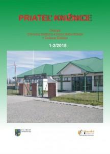 Priateľ knižnice 1-2/2015