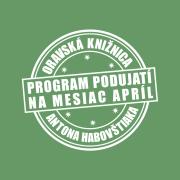 Program podujatí na mesiac apríl