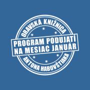 Program podujatí na mesiac január