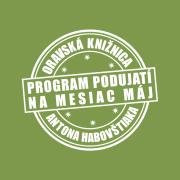 Program podujatí na mesiac máj