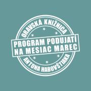 Program podujatí na mesiac marec