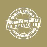 Program podujatí na mesiac jún