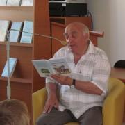 Stretnutie so spisovateľom Rudolfom Dobiášom