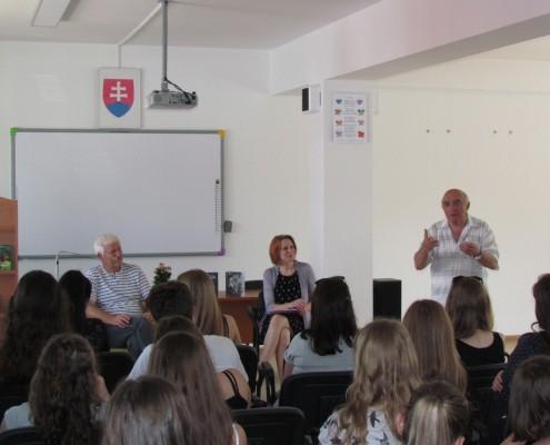 Stretnutie so spisovateľom Štefanom Kuzmom