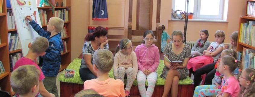 Čítanie o princeznej Bezvláske