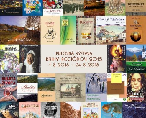 Knihy regiónov 2015
