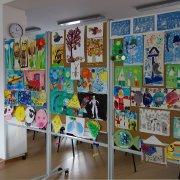 Výstava prác detí z MŠ Námestie slobody Dolný Kubín