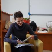 Stretnutie s Katarínou Slaninkovou