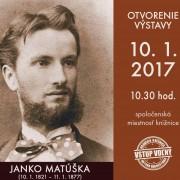 Výstava Janko Matúška
