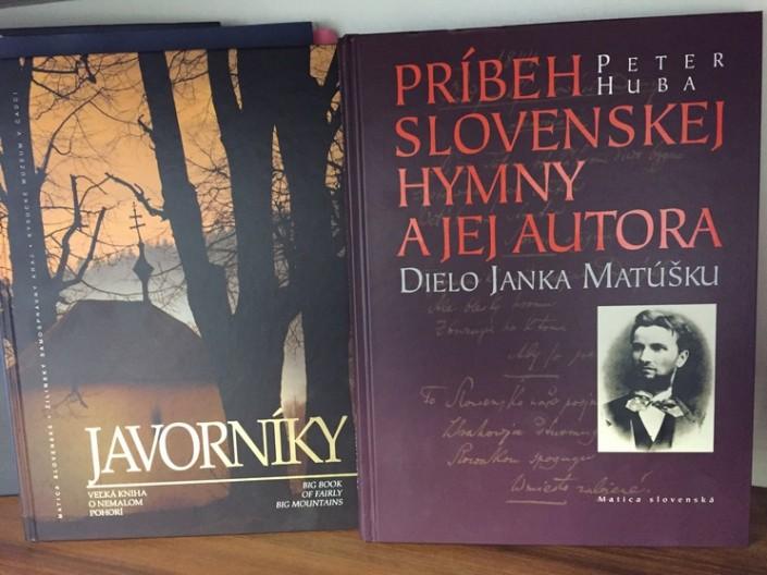Ocenené publikácie súťaže Najkrajšia kniha a propagačný materiál o Slovensku za rok 2016