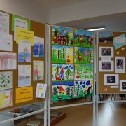 Výstava detských prác MŠ Pribiš