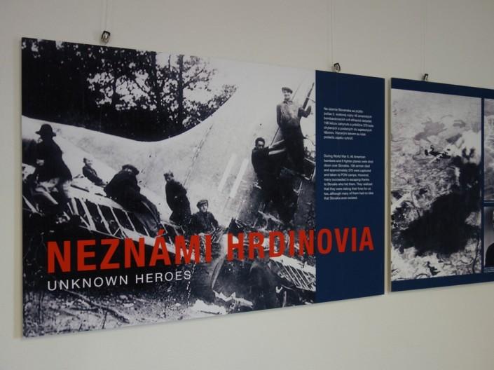 Výstava Neznámi hrdinovia