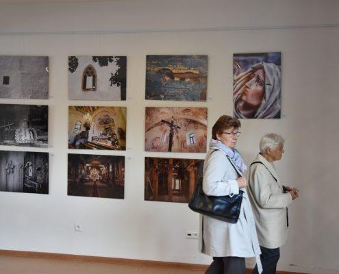 Vernisáž výstavy poľských a slovenských fotografov