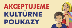 Akceptujeme kultúrne poukazy