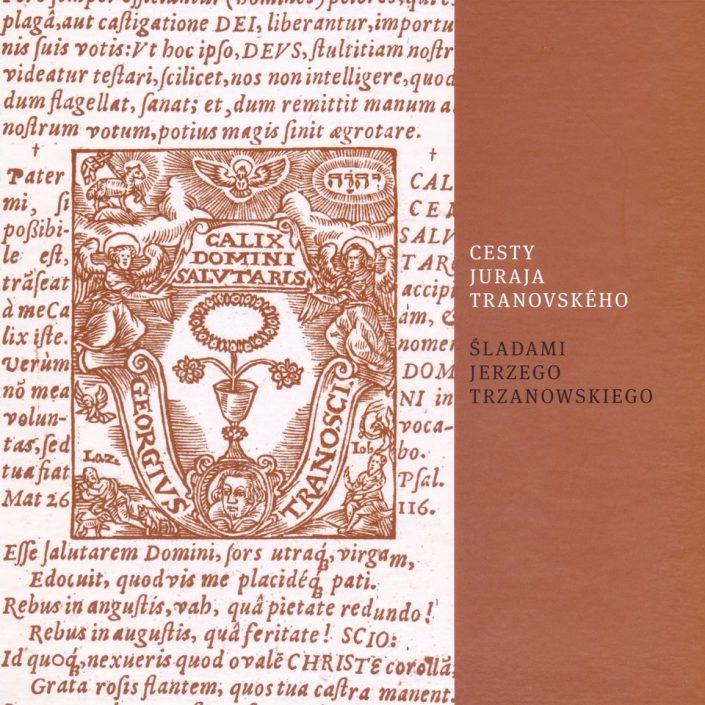 Obálka knihy Cesty Juraja Tranovského