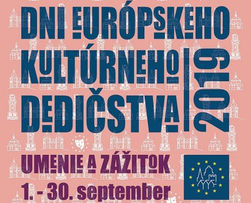 Dni európskeho kultúrneho dedičstva 2019