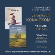 Kreslo pre hosťa s Jaroslavom KONVIČKOM