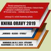 Vyhlásenie súťaže Kniha Oravy 2019