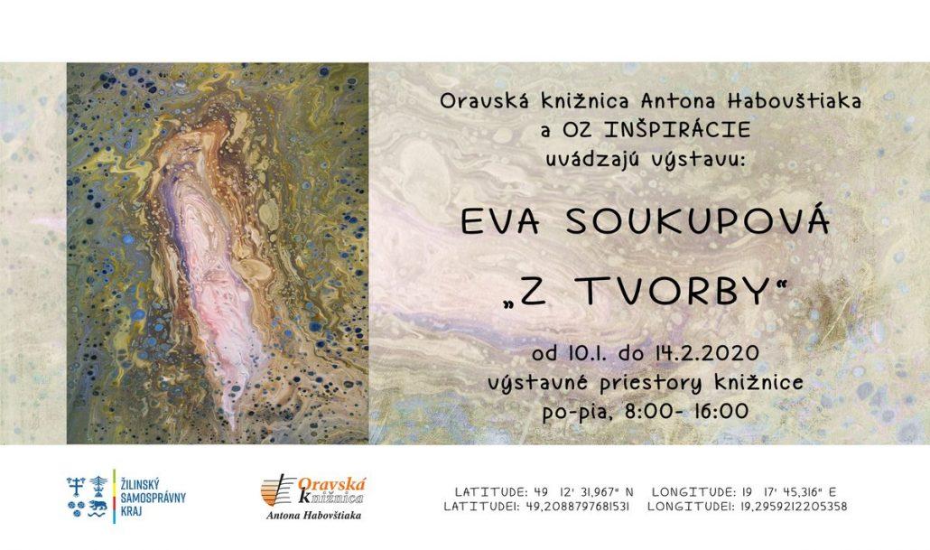 """Pozvánka Eva Soukupová """"Z tvorby"""""""