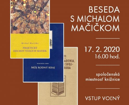 Beseda s Michalom Mačičkom