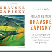 Prezentácia knihy: Oravské zápisky