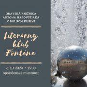 Literárny klub Fontána
