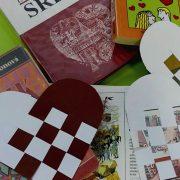Valentínska tvorivá dielňa Papierové tkanie