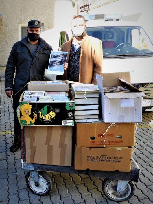 Darovali sme 550 kníh Ústavu na výkon trestu odňatia slobody Ružomberok