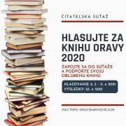 Hlasujte za KNIHU ORAVY 2020