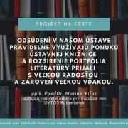 Projekt Na ceste pokračuje