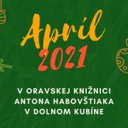 Program na apríl 2021