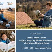 Autorská čítačka a beseda s víťazom Knihy Oravy 2020 Medardom Slovíkom a ilustrátorom Miroslavom Knapom