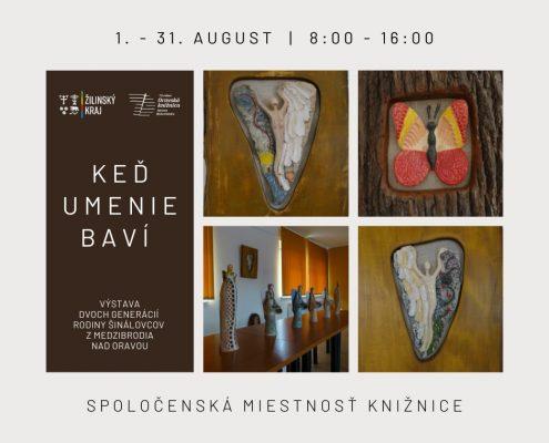 Výstava: Keď umenie baví
