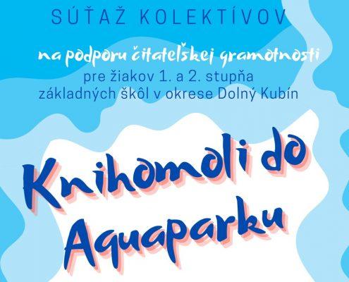 Súťaž: Knihomoli do Aquaparku