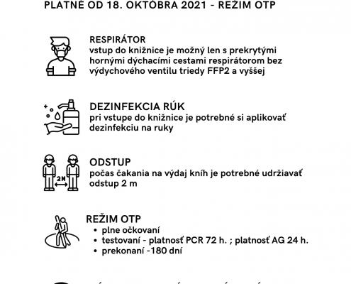 podmienky vstupu, režim OTP